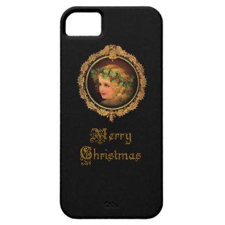 Vintage Christmas Angel iPhone SE/5/5s Case