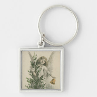 Vintage Christmas Angel Keychains