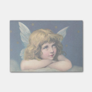Vintage Christmas Angel Post-it® Notes