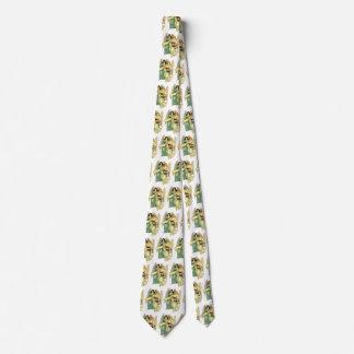Vintage Christmas, Angelic Victorian Angels Neck Tie