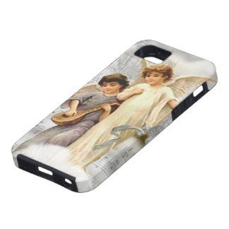 Vintage Christmas Angels iPhone 5 Vibe Case