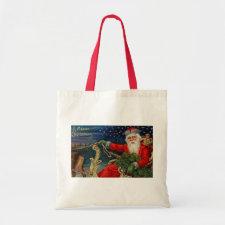 Vintage Christmas bag