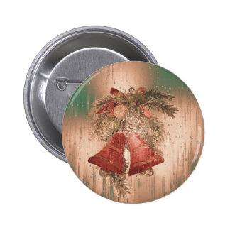 Vintage Christmas Bells Buttons