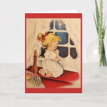 Vintage Christmas - Blessed Gift of Hope & Love, Card