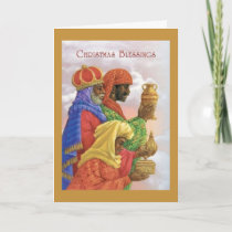 Vintage Christmas Blessings, Card