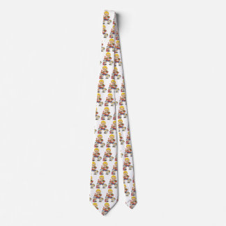 Vintage Christmas, Boy with Presents and Puppy Dog Neck Tie
