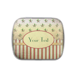 Vintage Christmas Candy Tins at Zazzle