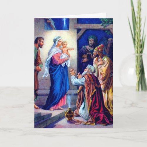 Vintage Christmas Card 2 card