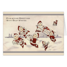 Vintage Christmas Cards at Zazzle