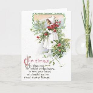 vintage christmas cards seasons greetings - Seasons Greetings Cards
