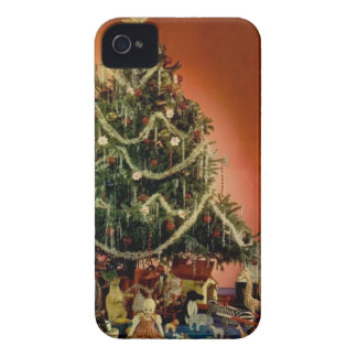 Vintage : Christmas - iPhone 4 Cases
