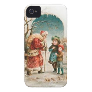 Vintage : Christmas - iPhone 4 Case-Mate Case