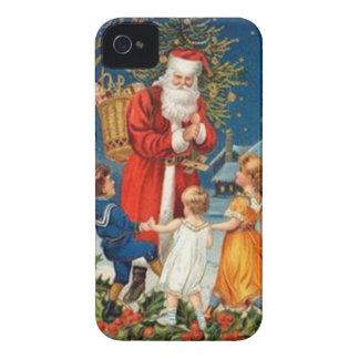 Vintage : Christmas - iPhone 4 Case
