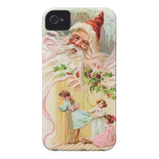 Vintage : Christmas - iPhone 4 Case-Mate Cases
