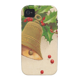 Vintage Christmas Cheer Case-Mate iPhone 4 Case