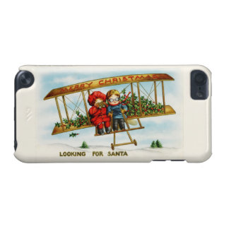 Vintage Christmas Children Looking For Santa iPod Touch (5th Generation) Cover