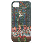 Vintage Christmas Choir in Church Children Singing iPhone 5 Covers