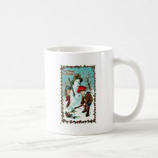 Vintage Christmas Coffee Mug