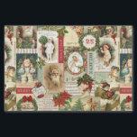"vintage Christmas collage decoupage tissue paper<br><div class=""desc"">vintage Christmas collage decoupage tissue paper</div>"