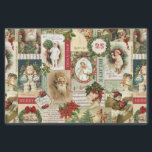 "vintage Christmas collage decoupage tissue paper<br><div class=""desc"">vintage Christmas collage decoupage tissue paper</div>"