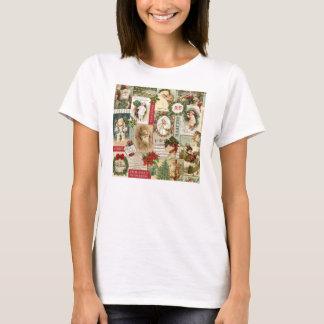 VINTAGE CHRISTMAS COLLAGE T-Shirt