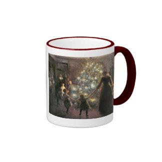 Vintage_Christmas_dance_mug Ringer Mug