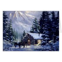 Vintage Christmas Day Card
