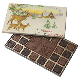 Vintage Christmas Deer Assorted Chocolates