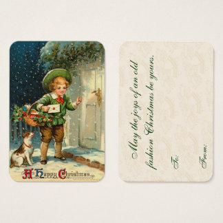 Vintage Christmas Delivery Gift Tags