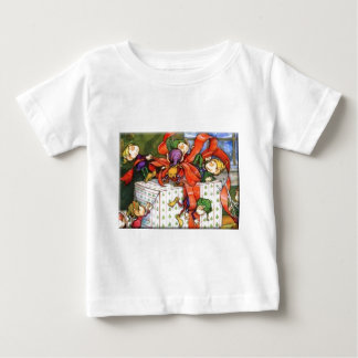 Vintage Christmas Elves Gift Wrapping Tees