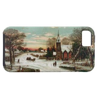 Vintage Christmas Eve 2 iPhone SE/5/5s Case