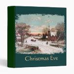 Vintage Christmas Eve binder