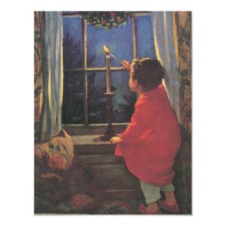 Vintage Christmas Eve by Jessie Willcox Smith Card