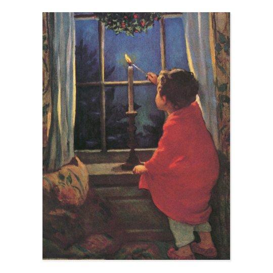 Vintage Christmas Eve by Jessie Willcox Smith Postcard