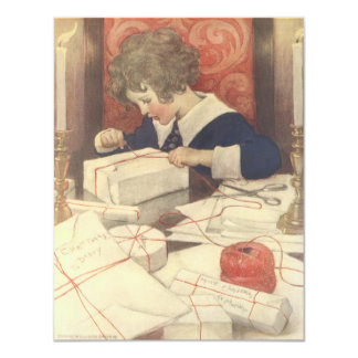 Vintage Christmas Eve Child, Jessie Willcox Smith Card