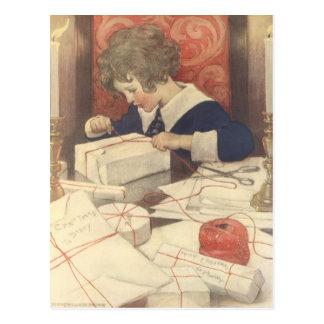 Vintage Christmas Eve Child, Jessie Willcox Smith Postcard