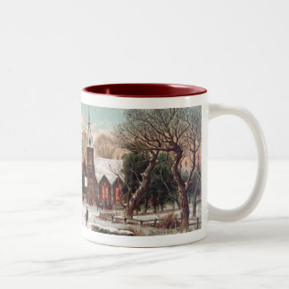 Vintage Christmas Eve Coffee Mug