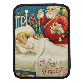 Vintage Christmas Eve iPad Sleeves