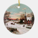 Vintage Christmas Eve Ornament