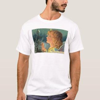 Vintage Christmas Girl T-Shirt