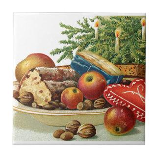 Vintage Christmas Goodies Tile