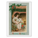Vintage Christmas Greetings Greeting Cards