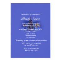 Vintage Christmas, holiday bridal shower party   Personalized Invite