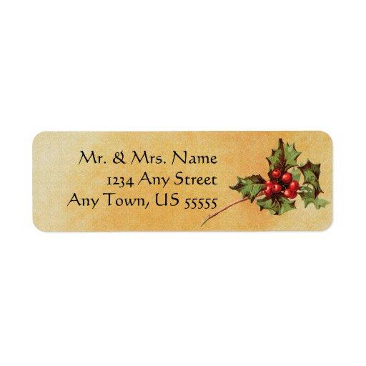 Making Christmas Gift Tags