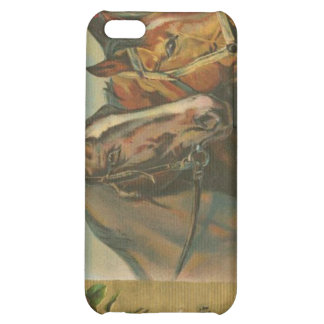 Vintage Christmas Horses iPhone 5C Cases