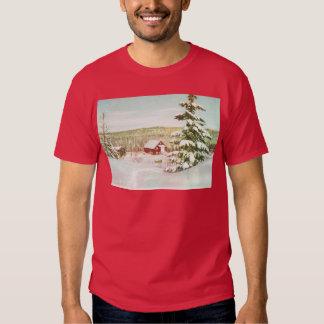 Vintage Christmas in Norway, 1950 Tee Shirt