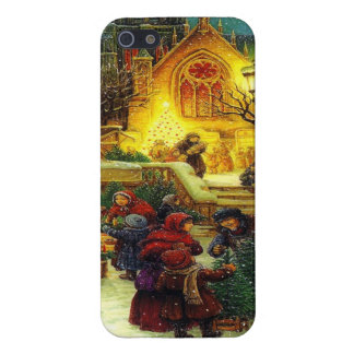 Vintage Christmas iphone 5/5S case