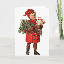 Vintage - Christmas is in the Air, Card