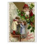 Vintage Christmas* *Joyful Tarjetón
