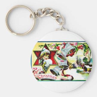 Vintage Christmas Keychains